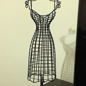 Black Earring Holder - Dress